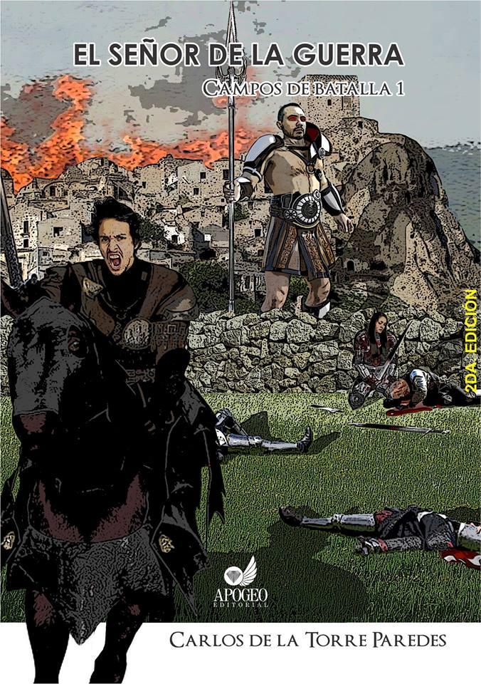 El señor de la guerra campos de batalla portada completa