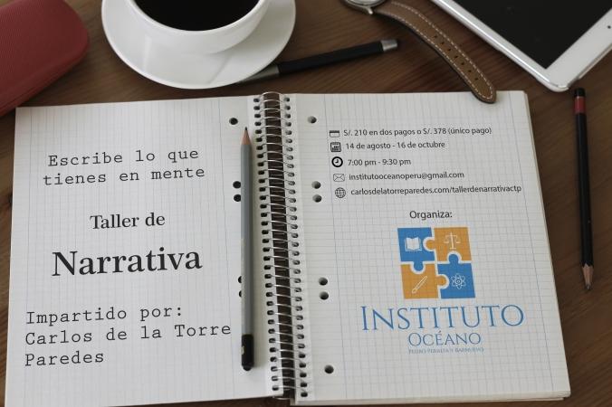 publicidad taller de narrativa cuaderno